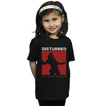 Disturbed filles Evolution place T-Shirt
