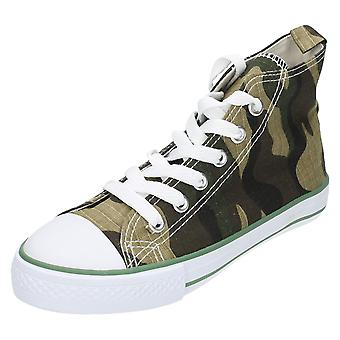 Childrens JCDees Camouflage Shoes