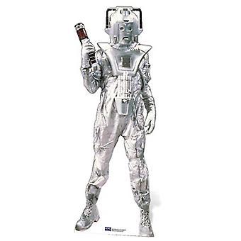 Klassinen Cyberman Lifesize pahvi automaattikatkaisin / seisoja