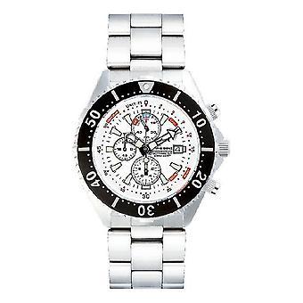 CHRIS BENZ - Diver watch - DEPTHMETER CHRONOGRAPH 300M - CB-C300-W-MB