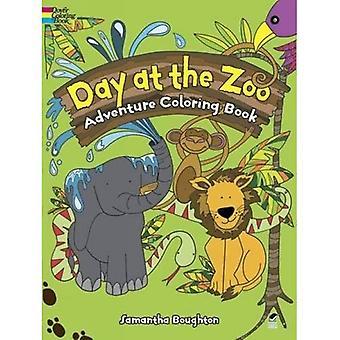 Tag im Zoo-Abenteuer-Malbuch (Dover Malbücher)