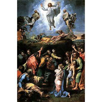 The Transfiguration, Raphael, 40x60cm with tray