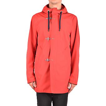 Fay Ezbc035027 Men's Red Polyester Outerwear Jacket