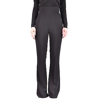 Elisabetta Franchi Ezbc050094 Women's Black Polyester Pants
