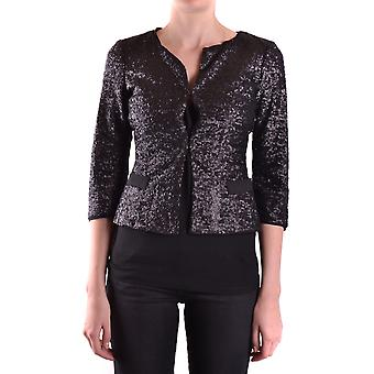 Liu Jo Ezbc086067 Dames's Black Polyester Cardigan