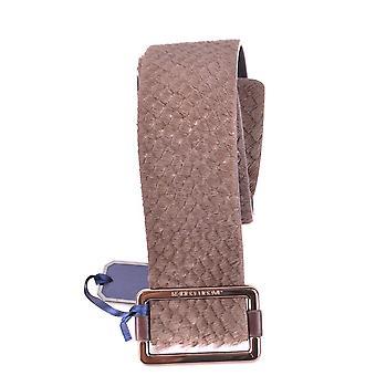 Jacob Cohen Ezbc054262 Women's Brown Leather Belt