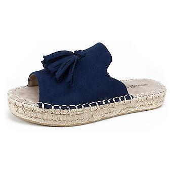 Seven Dials Womens Wendelle Peep Toe Casual Espadrille Sandals