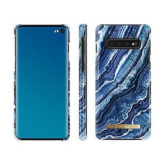 iDeal de Suecia Samsung Galaxy S10-Indigo Swirl