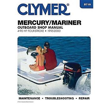 Mercury/Mariner 4-90HP Carburetted 4-Stroke Outboard Engine Manual by