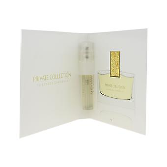 Estee Lauder Tuberose Gardenia mini Eau de Parfum 0.05 oz/1.5 ml nuovo in carta