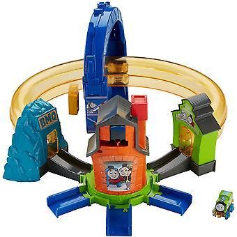 Thomas & Friends FJP36 Minis Boost N Blast Stunt Playset