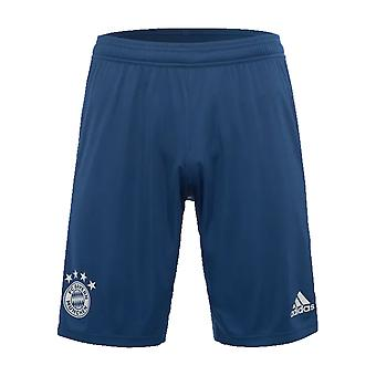 2019-2020 Bayern Munich Adidas koulutus shortsit (Night Marine)-Kids