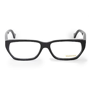 Balenciaga BA 5073 001 57 Geometric Eyeglasses Frames