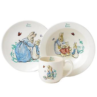 Beatrix Potter Peter Rabbit Three-Piece Nursery Set