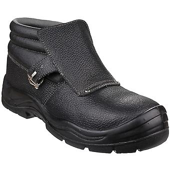 Centek Mens FS332 Glyder Welding Safety Boot Black