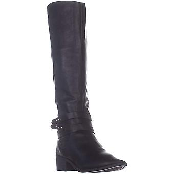 Material Girl MG35 Damien Knee High Boots, Black