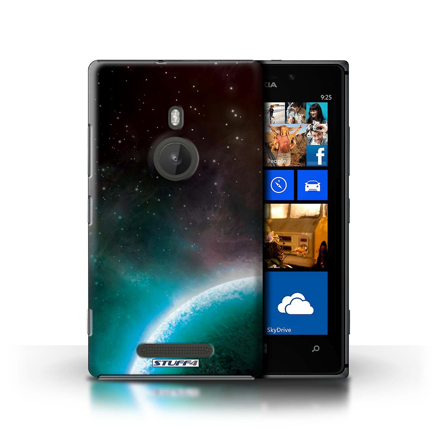 STUFF4 Case/Cover for Nokia Lumia 925/Blue Planet/Space/Cosmos