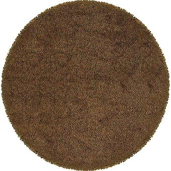 Loft collection 520s4 rust/gold tweed area rug (8'round)