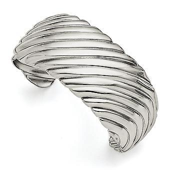 rustfritt stål polert mansjett stables bangle armbånd smykker gaver til kvinner