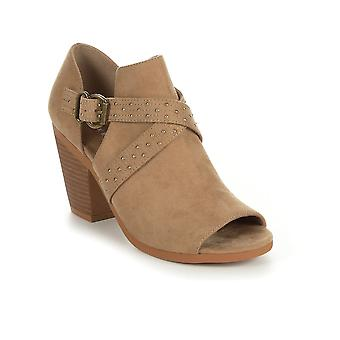Rocket Dog Womens Yuma Fabric Peep Toe Ankle Clog Boots