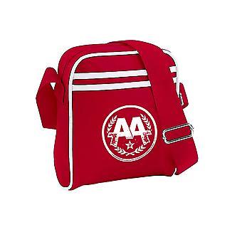 Fragen Alexandria Circle Logo Offizielle neue rote Mini Reporter Tasche