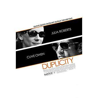 Duplicity Original Kino Poster