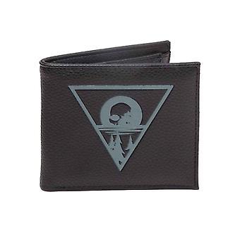 Days Gone Wallet Debossed Logo new Official  Gamer Black Bifold