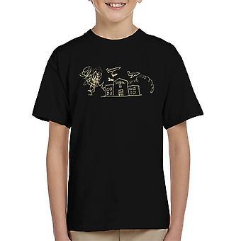 Zits High School Doodle Kid's T-Shirt