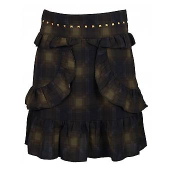 Sofie Schnoor Checked Short Skirt