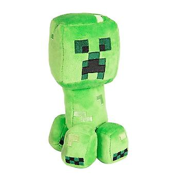 Minecraft, Knuffeldier/pluche speelgoed-klimplant 20 cm