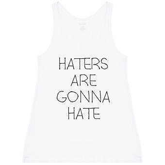 Haters Are Gonna Hate - Womens Long Vest Top