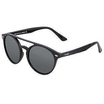 تبسيط النظارات الشمسية المستقطبة فينلي - أسود / أسود