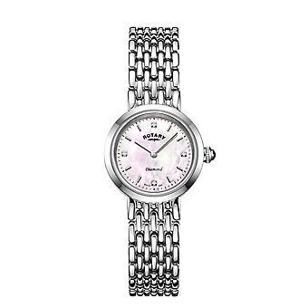 Roterende LB00899-07-D kvinner ' s diamant armbåndsur