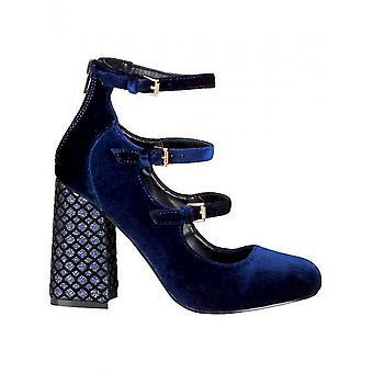 Fontana 2,0-schoenen-hoge hakken-GIULIA_BLU-vrouwen-Navy, zwart-39