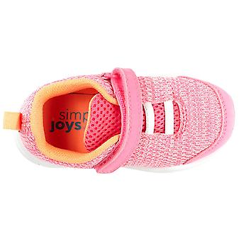 Simple Joys di Carter's Kids' Knitted Unisex Athletic Shoe Sneaker