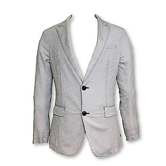 Armani Jeans unstructured jacket in grey textured design