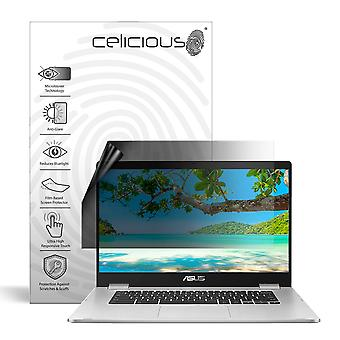 Celicious Privacy Lite 2-Way Anti-Glare Anti-Spy Filter Screen Protector Film Compatible with Asus Chromebook C523NA