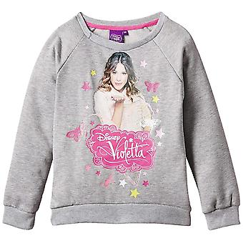 Mädchen Disney Violetta Crew Neck Sweatshirt