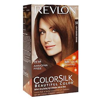 Revlon colorsilk beautiful color, light golden brown 54, 1 ea