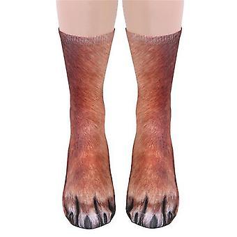 Dierlijke sokken-vrouwen volwassen Unisex