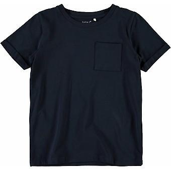Name-It T-Shirt Vester Dark Saphire