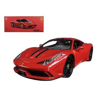Ferrari 458 Red Speciale Signature Series 1/18 Diecast Model Car par Bburago