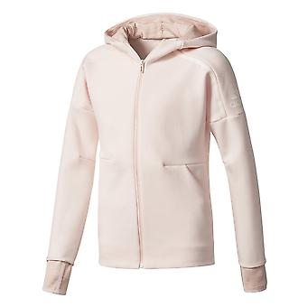 Adidas Małe dziewczyny Zne 2pulse Full Zip Bluza z kapturem