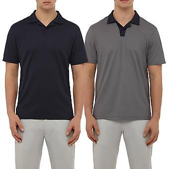 Wolsey mens Johnny Collar lichtgewicht ademend Golf Polo shirt