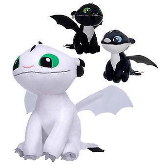 Drachenzähmen leicht gemacht 3 Plüschfigur Überraschung erhalte 1 von 3 verschiedenen Figuren, 100 % Polyester, in Polybeutel.