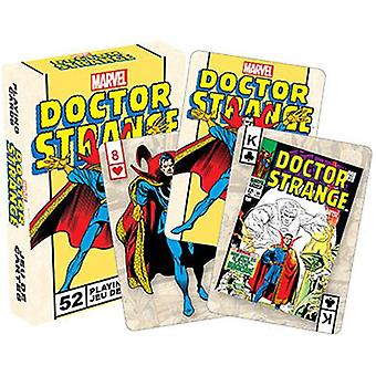 Marvel - dr strange retro playing cards