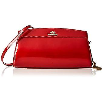 WITTCHEN 25-4-516-3 - Classic lacquered leather case for A4 size 16 x 29 cm color: Red