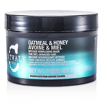Tigi Catwalk Oatmeal & Honey Intense Nourishing Mask (for Dry Damaged Hair) - 200g/7.05oz