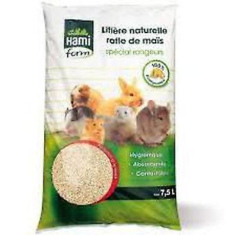 Hami Form Natural Bed Maiz 7.5 L (Small pets , Bedding)