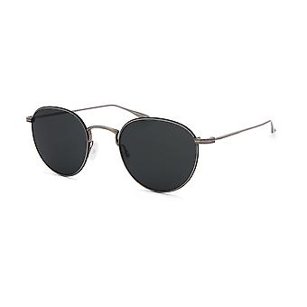 Barton Perreira Lancer BP0026 1TF Pewter-Black Enamel/Vintage Grey Sunglasses